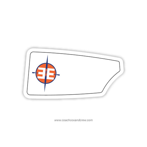 East End Rowing Institute Oar Sticker (NY)
