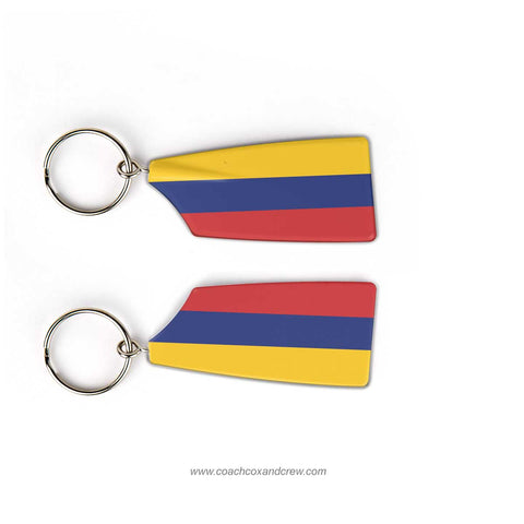 Ecuador National Rowing Team Keychain