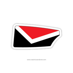 Elizabeth Seton High School Oar Sticker (MD)