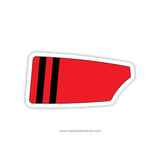 Emma Willard School Oar Sticker (NY)