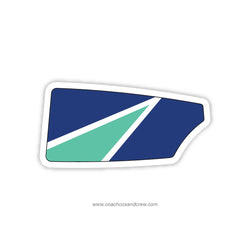 Evans Rowing Club Oar Sticker (FL)