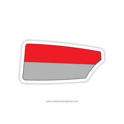 Florida Institute of Technology Men Oar Sticker (FL)