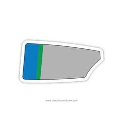 Forest Park Crew Oar Sticker (VA)