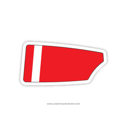 Fox Chapel Crew Oar Sticker (PA)