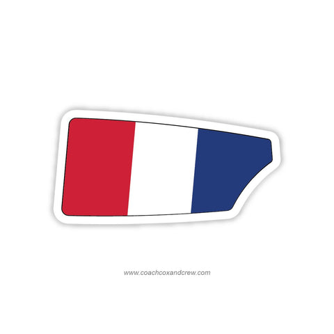 France National Team Oar Sticker