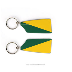 Frank W Cox High School Crew Club Rowing Team Keychain (VA)