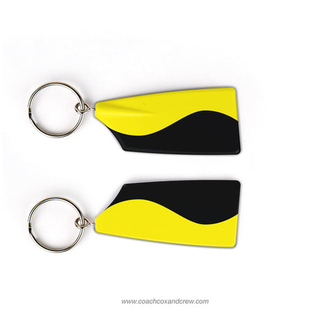 Georgia Tech Rowing Club Rowing Team Keychain (GA)