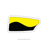 Georgia Tech Rowing Club Oar Sticker (GA)