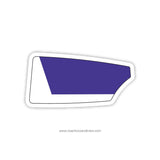 Gonzaga College High School Crew Oar Sticker (DC)