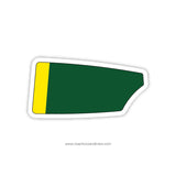 Great Bridge Crew Club Oar Sticker (VA)