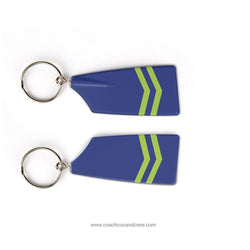 Greater Houston Rowing Club Rowing Team Keychain (TX)