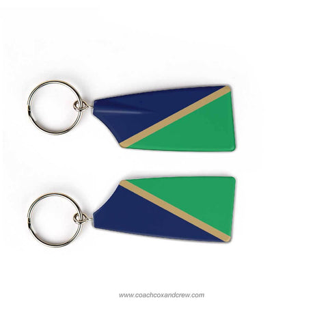 Green Templeton Boat Club Rowing Team Keychain (UK)