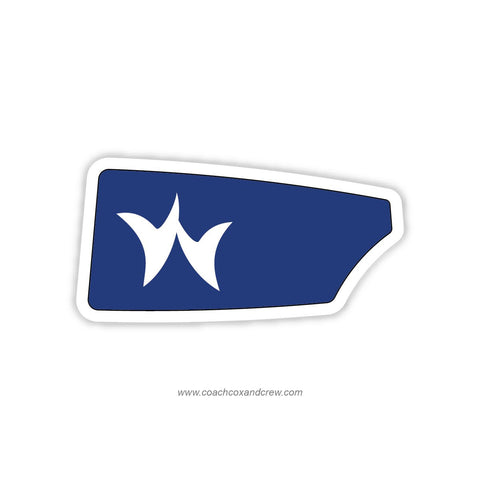 Greenwich Crew Oar Sticker (CT)