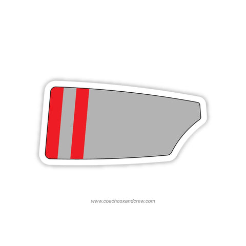 Gunnery School Crew Oar Sticker (CT)