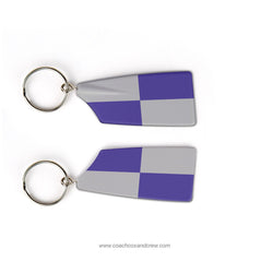 High Point University Rowing Team Keychain (NC)