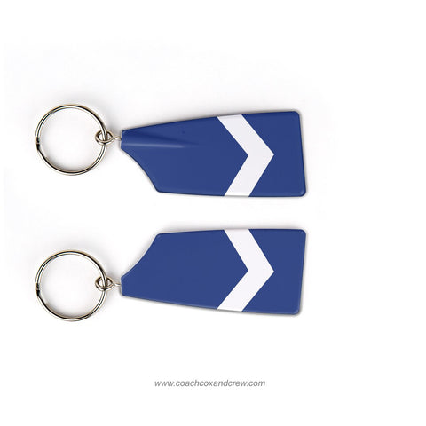 Hollis Brookline Cavaliers Crew Rowing Team Keychain (CT)