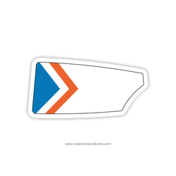 Hollywood Rowing Club Oar Sticker (FL)