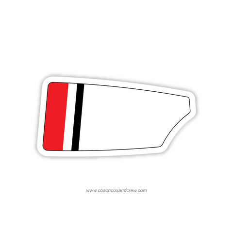 Indianapolis Rowing Club Oar Sticker (IN)