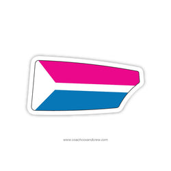 Intrepid Rowing Club Oar Sticker (FL)