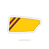 Iona College Crew Oar Sticker (NY)