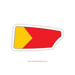 Iowa State University Crew Club Oar Sticker (IA)