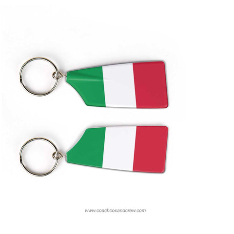 Italy National Rowing Team Keychain