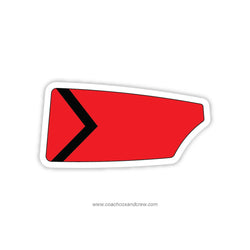 Jackson University Rowing Oar Sticker (FL)
