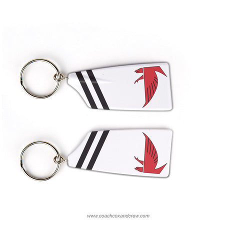 James Madison Warhawk Crew Rowing Team Keychain (VA)
