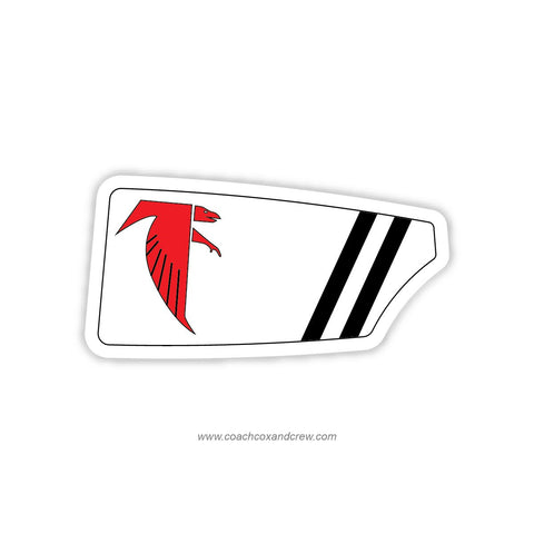 James Madison Warhawk Crew Oar Sticker (VA)