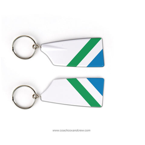Kansas City Rowing Club Rowing Team Keychain (KS)