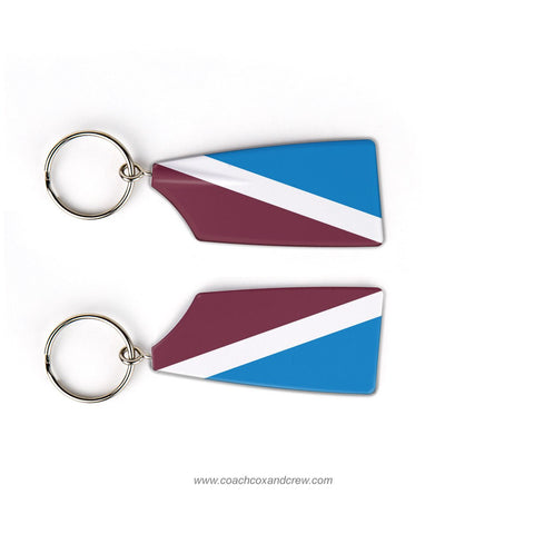 Leonia Crew Rowing Team Keychain (NJ)
