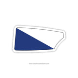 Los Gatos Rowing Club Oar Sticker (CA)