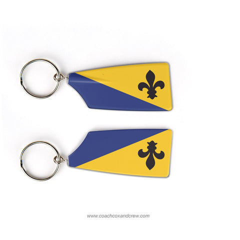 Louisville Rowing Club Rowing Team Keychain (KY)