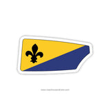Louisville Rowing Club Oar Sticker (KY)