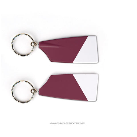 Lowell High School Crew Rowing Team Keychain (MA)