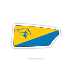Lyman Rowing Association Oar Sticker (FL)