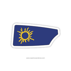 Manatee County Youth Rowing Oar Sticker (FL)