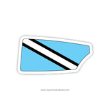 Maritime Rowing Club Oar Sticker (CT)