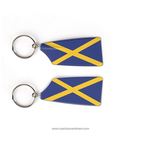Marquette University Rowing Club Rowing Team Keychain (WI)