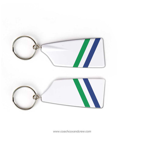 Mercyhurst University Women Rowing Team Keychain (PA)