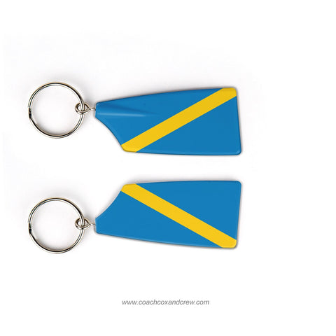 Mobjack Rowing Association Rowing Team Keychain (VA)