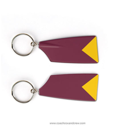 Mystic Valley Regional Charter School Rowing Team Keychain (MA)