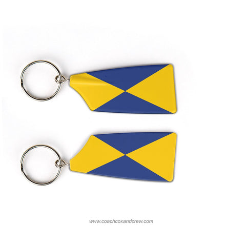 North Hampton Crew Rowing Team Keychain (MA)