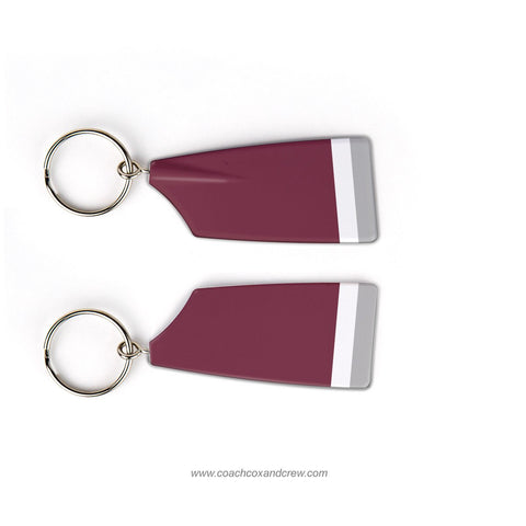 Nutley High School Crew Rowing Team Keychain (NJ)