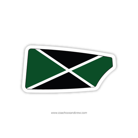 Ohio University Men Oar Sticker (OH)