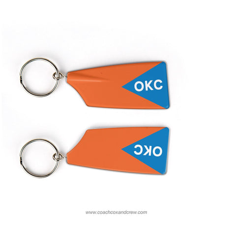 Oklahoma City Rowing Rowing Team Keychain (OK)