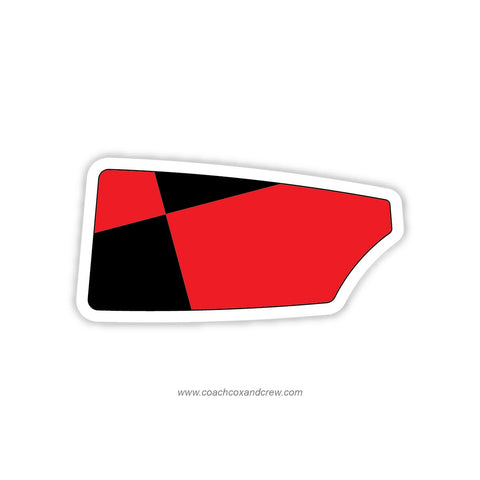 Parati Competitive Rowing Oar Sticker (TX)