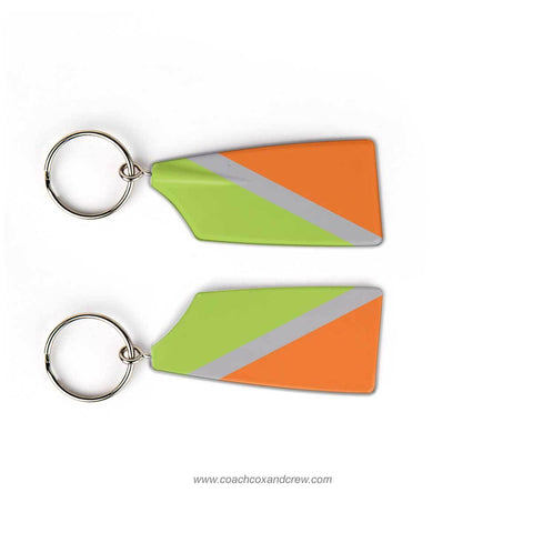 Peachtree City Rowing Club Rowing Team Keychain (GA)