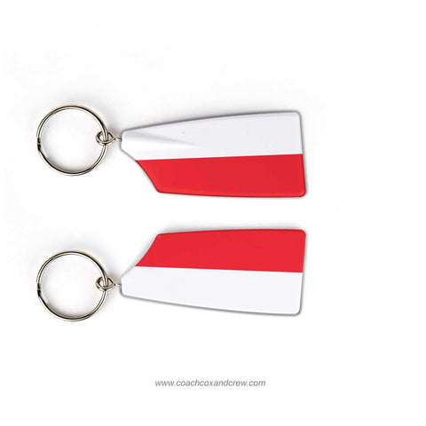 Poland National Rowing Team Keychain