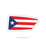 Puerto Rican Rowing Federation Oar Sticker (PUR)